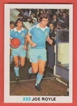 Manchester City Joe Royle England